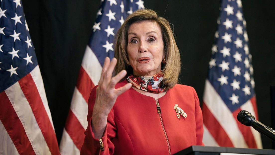 """Nancy Pelosi: """"El día de hoy marca el amanecer de un nuevo día de esperanza para Estados Unidos"""""""