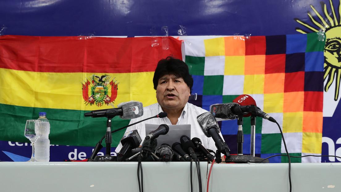Evo Morales anuncia que volverá a Bolivia el próximo lunes, luego de pasar casi un año en Argentina como refugiado político