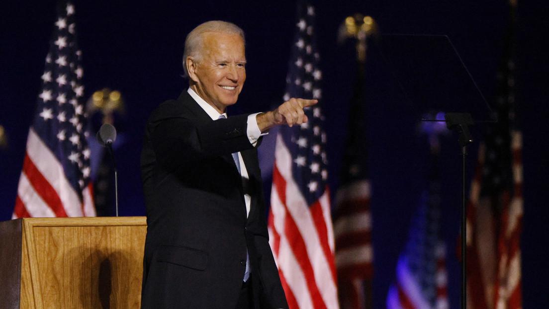 """Joe Biden proclama su """"victoria convincente"""" en las presidenciales y llama a EE.UU. """"faro para el mundo"""""""
