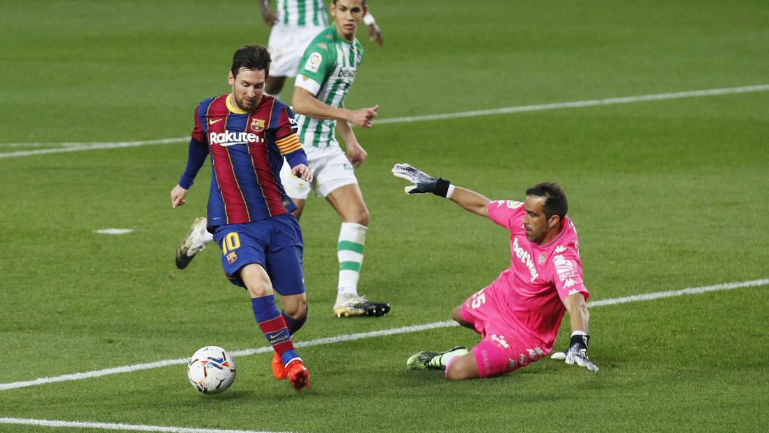 VIDEOS: Messi anota doblete en el triunfo contra el Betis y acaba con la racha del Barça de cuatro jornadas sin ganar en La Liga