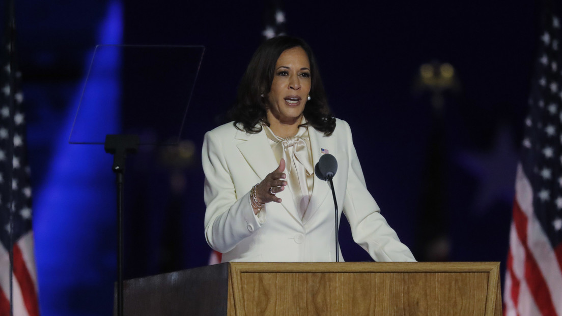 """Kamala Harris: """"Puedo ser la primera mujer vicepresidenta en la historia de EE.UU., pero no seré la última"""""""