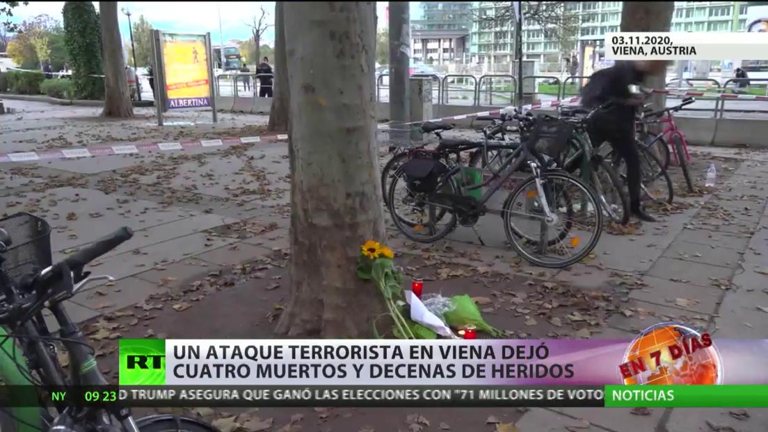 El ataque terrorista en Viena deja 4 muertos y decenas de heridos, mientras las autoridades reconocen brechas de seguridad