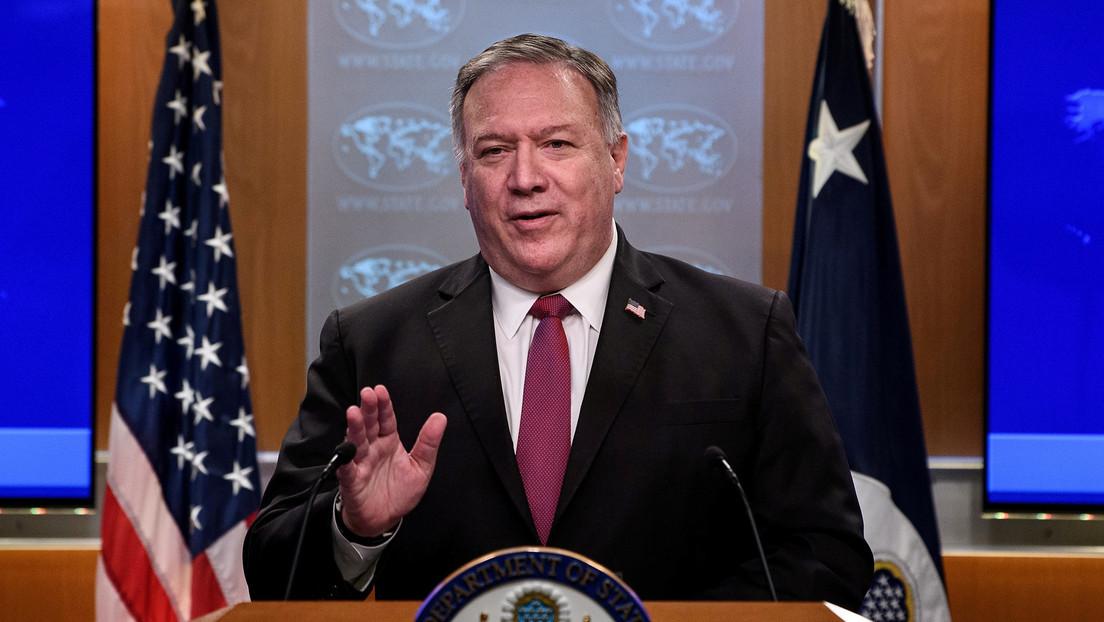 """Irán afirma que el altercado verbal entre Jameneí y Pompeo se debe a que el secretario de Estado está """"furioso"""" por la derrota de Trump"""