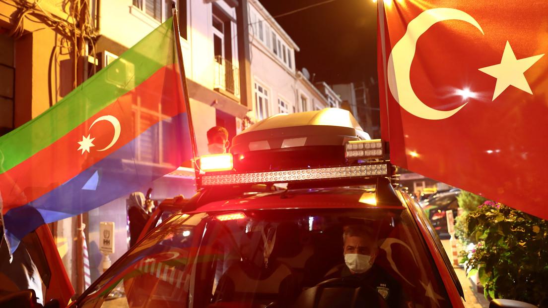 Azerbaiyán anuncia que podría aceptar ayuda militar de Turquía si se ve amenazado