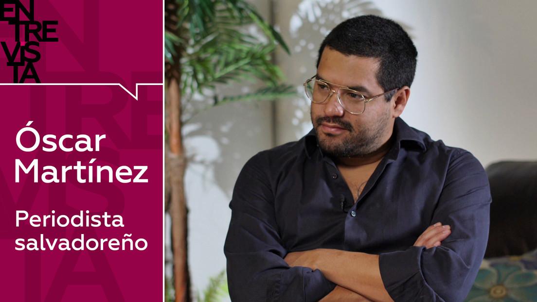 """Óscar Martínez, periodista salvadoreño: """"Creo que dialogar con las pandillas puede ser una opción"""""""