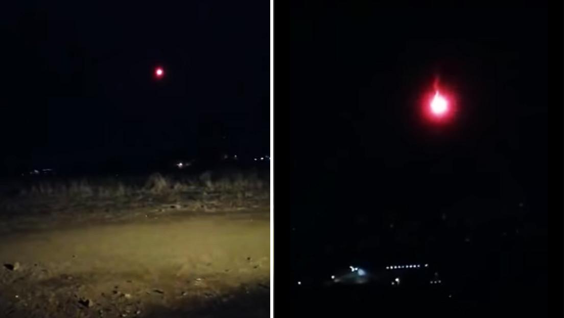 VIDEO: Una 'bola de fuego' ilumina el cielo del Líbano, causa un incendio, pero al final resultó ser una bengala
