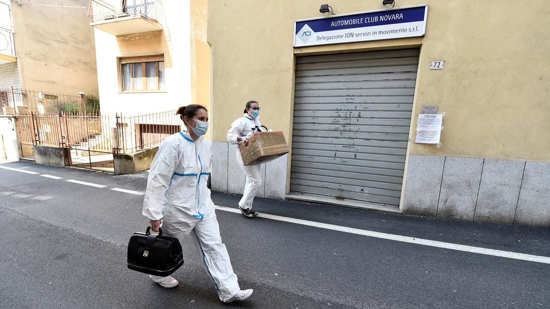 """Médicos advierten que Italia se encuentra al borde de sufrir """"una tragedia nacional"""""""