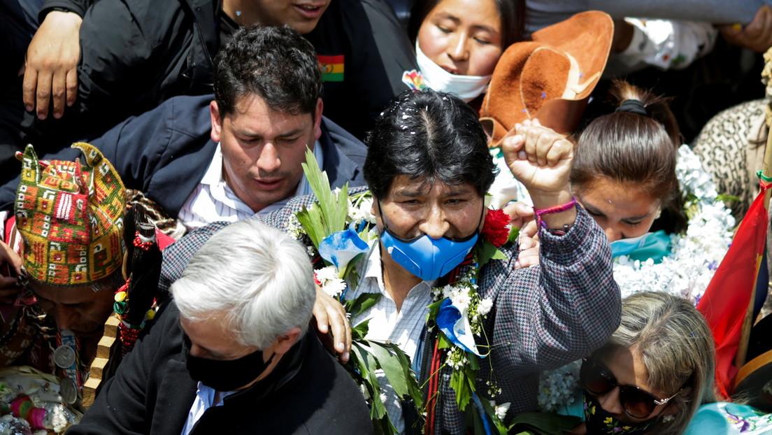 """""""Se acabó el tiempo de llorar, ahora debemos organizarnos"""": Las claves del primer discurso de Evo Morales en su regreso a Bolivia"""
