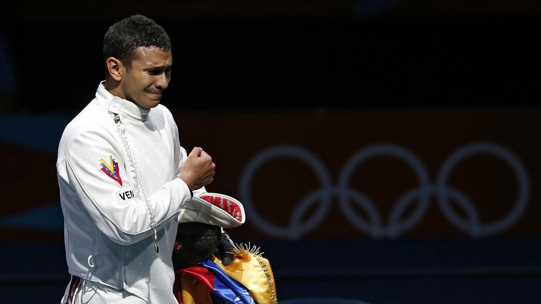 El campeón olímpico venezolano Rubén Limardo revela que ahora también trabaja como repartidor y causa revuelo en las redes