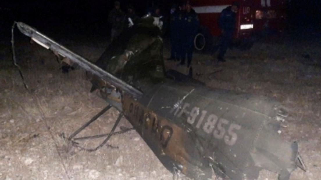 Azerbaiyán reconoce que derribó accidentalmente un helicóptero ruso y se disculpa por lo sucedido