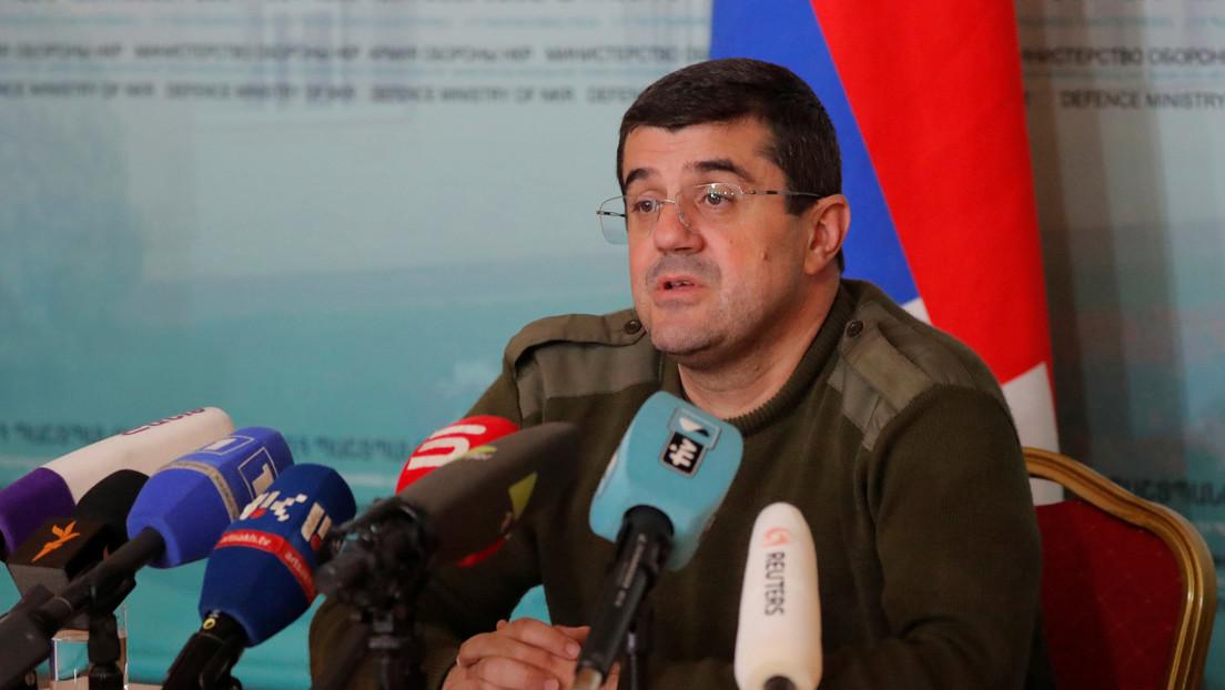 El presidente de Nagorno Karabaj anuncia que está de acuerdo en poner fin a las hostilidades