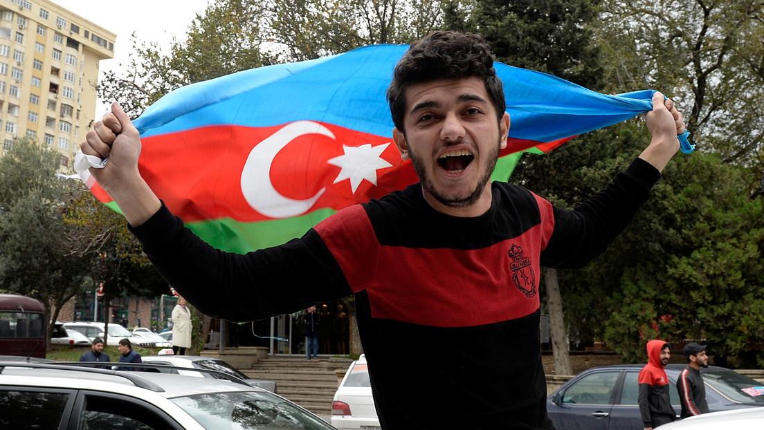 """Presidente de Azerbaiyán califica de """"histórico"""" el acuerdo con Armenia y Rusia sobre Nagorno Karabaj"""