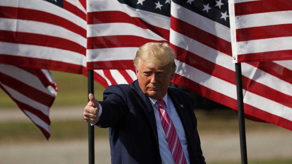 Reportan que Trump piensa postularse para las presidenciales de 2024
