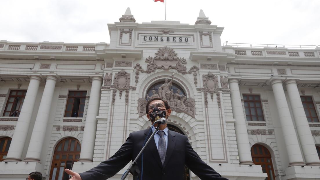 """""""No tomaré ninguna acción legal"""": Vizcarra anuncia que hoy abandonará el Palacio de Gobierno de Perú"""