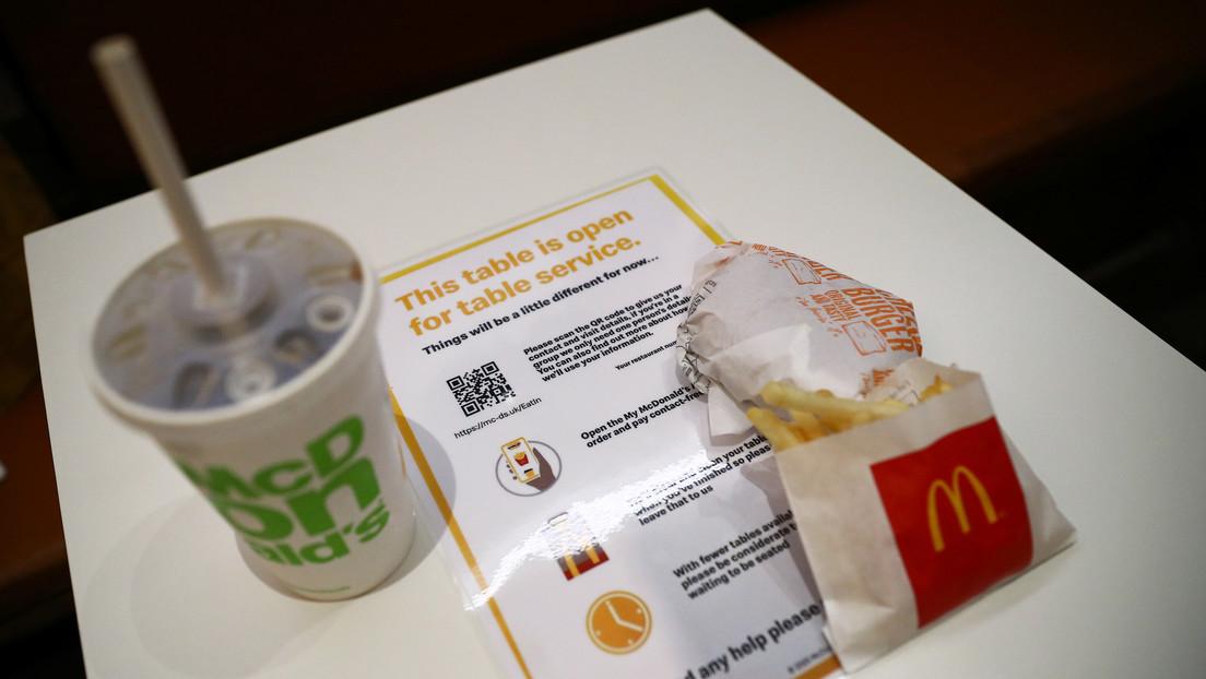 McDonald's elabora su propia carne a base de plantas