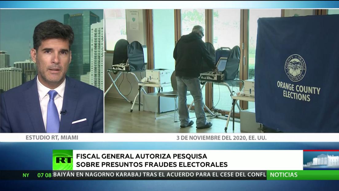 Fiscal general autoriza pesquisa sobre presuntos fraudes electorales