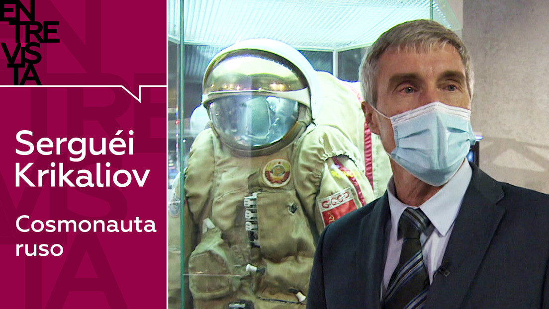 """Serguéi Krikaliov, cosmonauta ruso: """"La cuarentena no me afectó; estar dentro de la estación es un verdadero reto"""""""