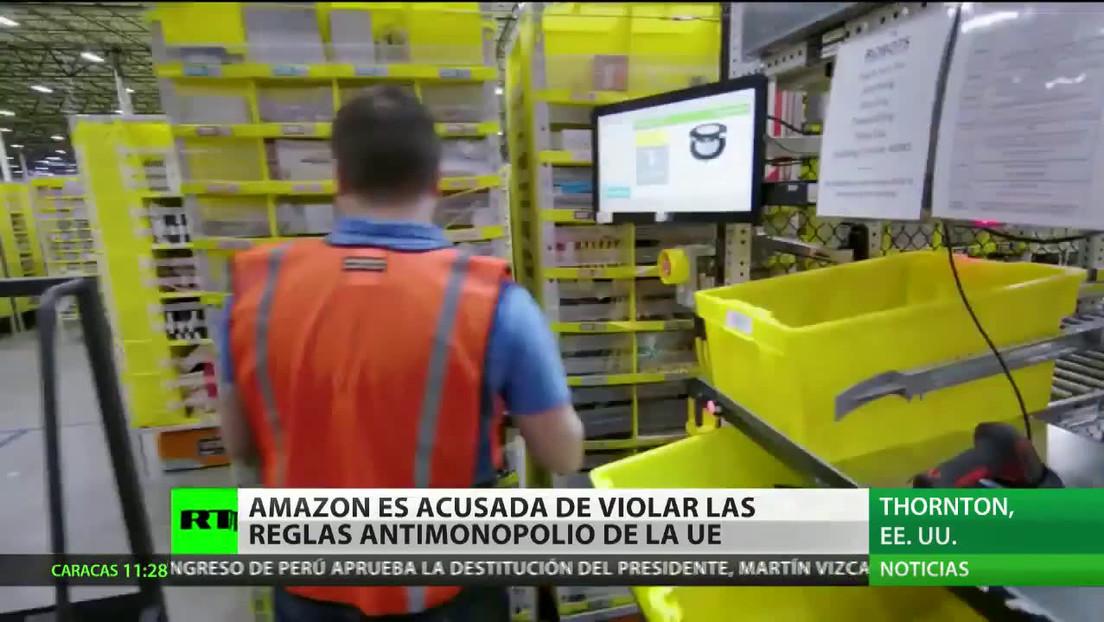 Acusan a Amazon de violar las reglas antimonopolio de la UE