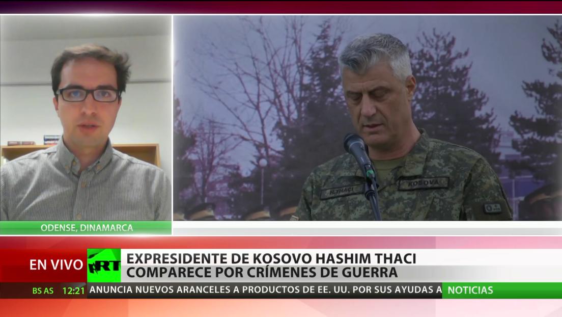 Expresidente de Kosovo comparece en La Haya por crímenes de guerra, incluidos asesinatos y torturas