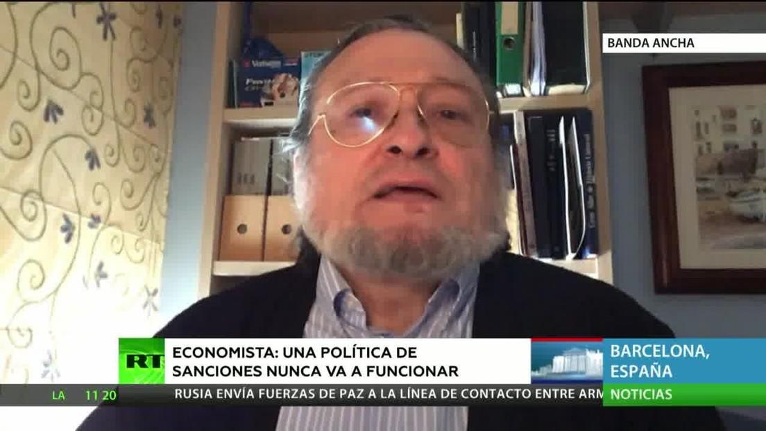 """Economista: """"Una política de sanciones no funciona jamás"""""""