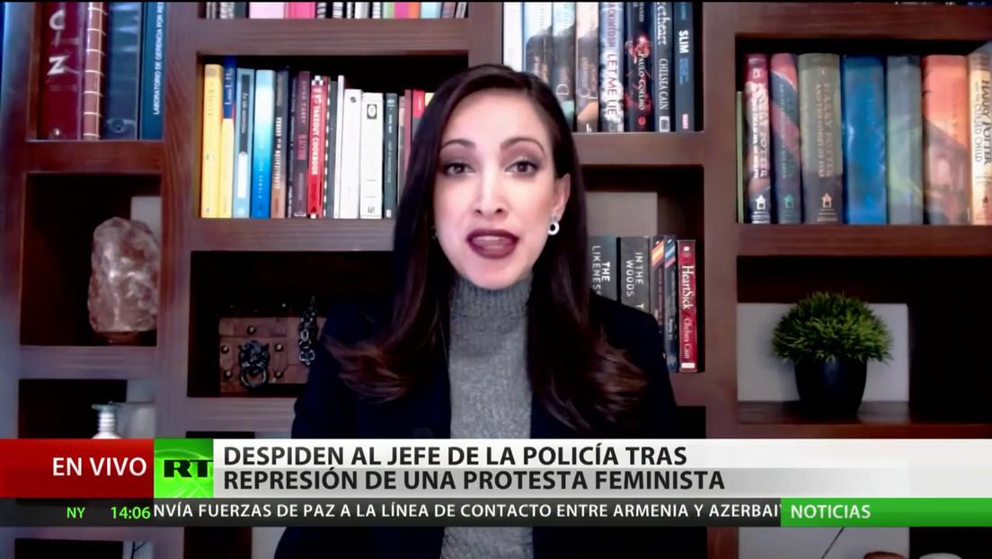 Despiden al jefe de la Policía de Cancún tras los hechos de represión en una protesta feminista