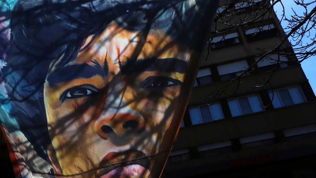 Maradona sale de la clínica donde fue operado de la cabeza y seguirá su recuperación en un lujoso barrio privado
