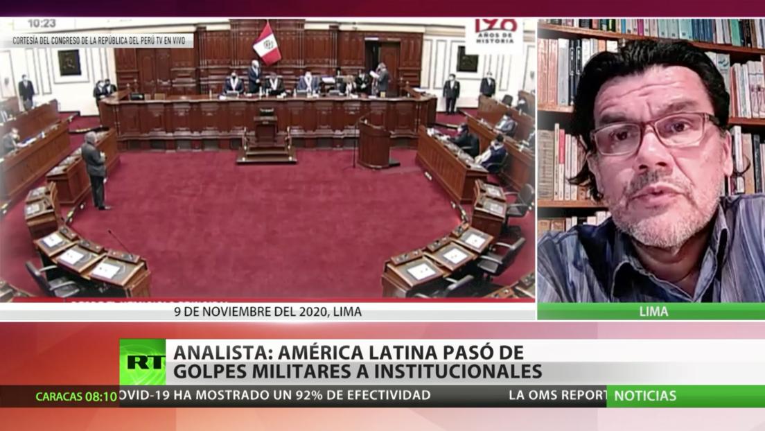 Analista: América Latina pasó de los golpes de Estado militares a los institucionales