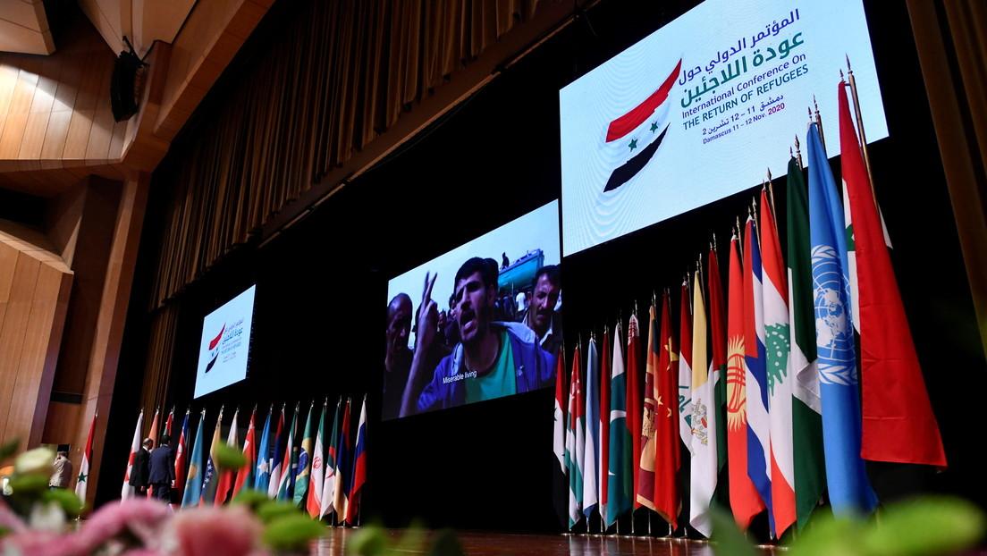 """""""Millones desean regresar"""": Damasco acoge una conferencia internacional sobre el retorno de los refugiados sirios"""
