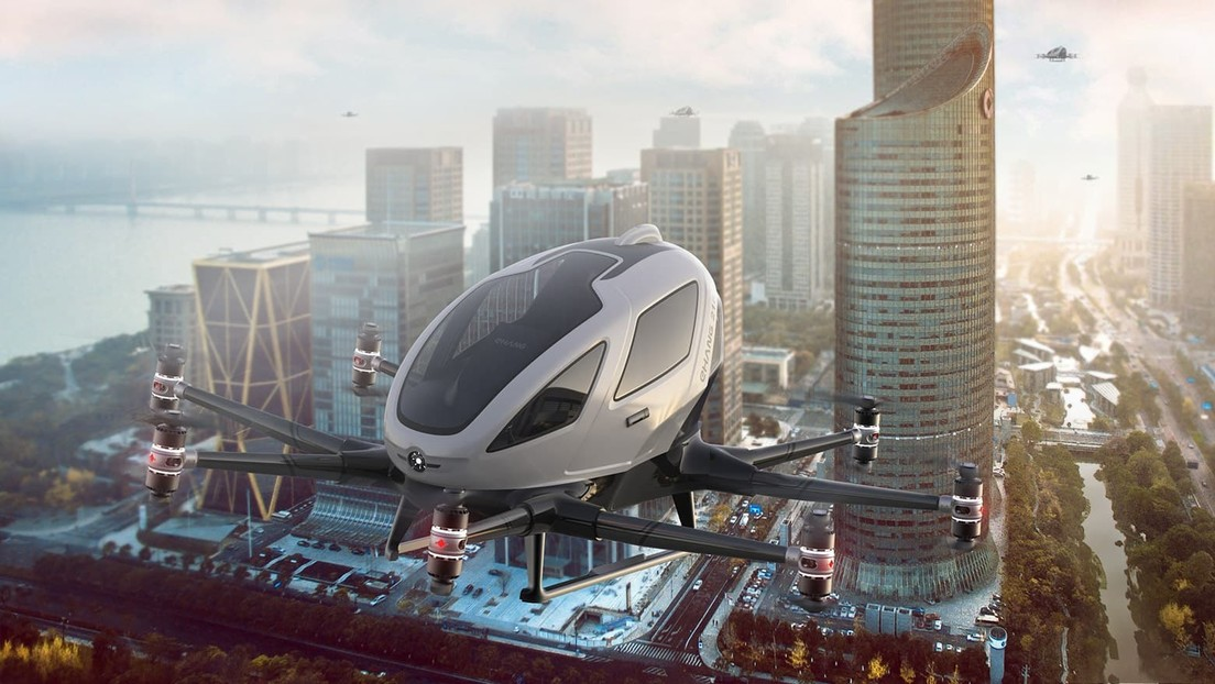 Corea del Sur prueba taxis voladores no tripulados que ayudarán a resolver los problemas de tráfico de la densamente poblada capital (VIDEO)