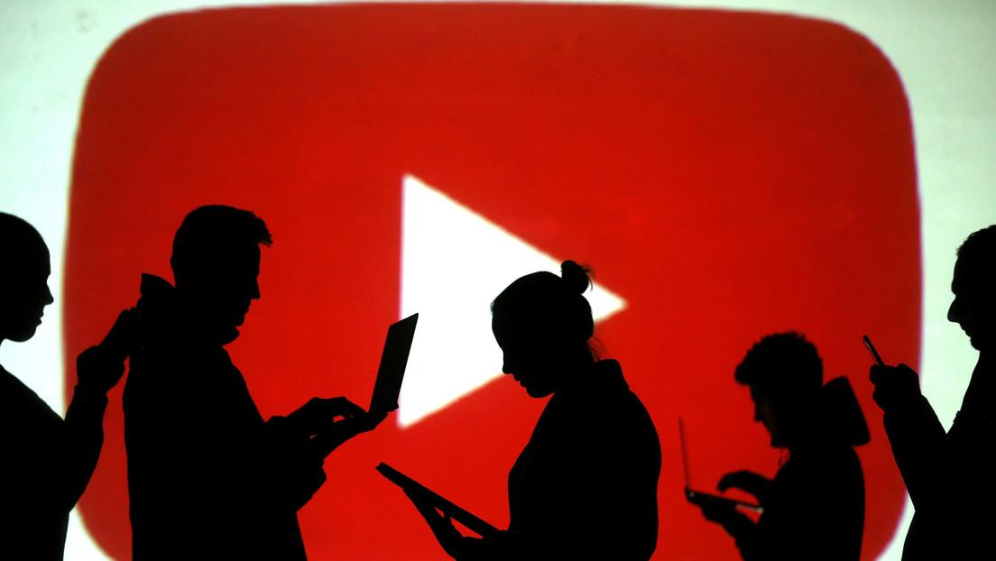 Se registra una caída de YouTube a nivel mundial