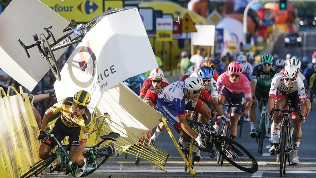 Suspenden a un ciclista por 9 meses tras ocasionar un accidente que dejó a otro competidor en coma y con graves heridas