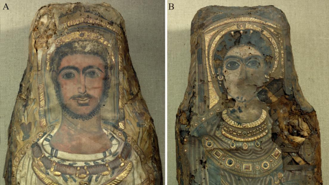 Descubren una momia egipcia que aún conserva el cerebro y otros órganos internos (FOTOS)