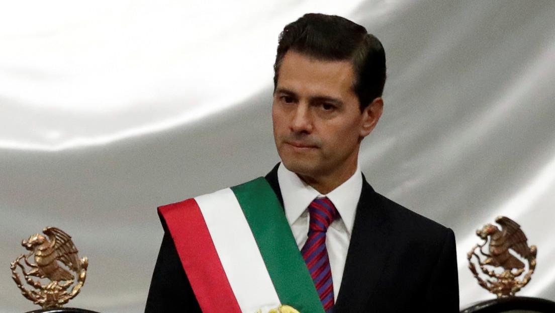 La Fiscalía de México señala a Peña Nieto de ser el máximo responsable de un grupo criminal que participó en actos de cohecho y traición a la patria
