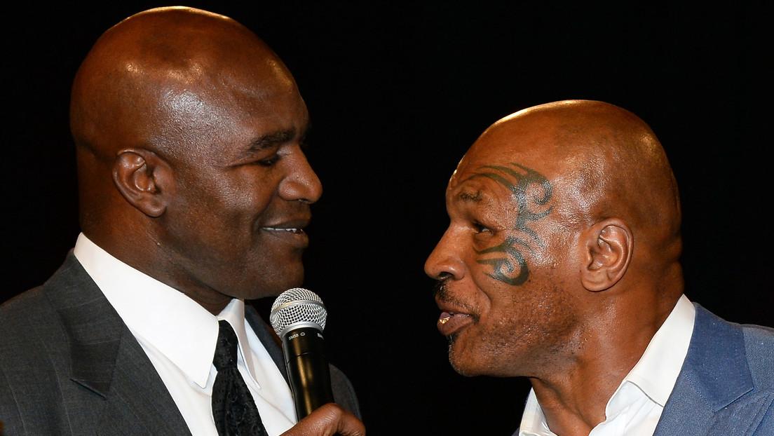 """""""Tyson está asustado"""": Evander Holyfield acusa a su antiguo rival de evitar enfrentarlo sobre el ring"""
