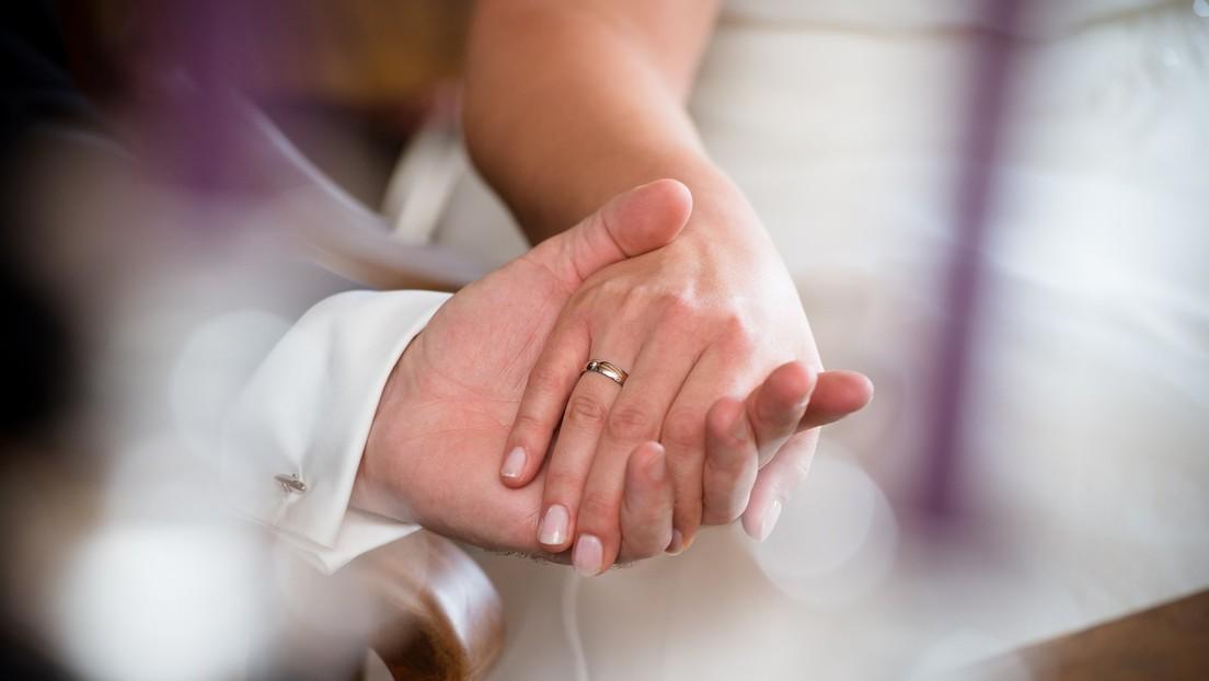Una novia con cáncer cerebral contrae nupcias y muere 15 minutos después de la ceremonia