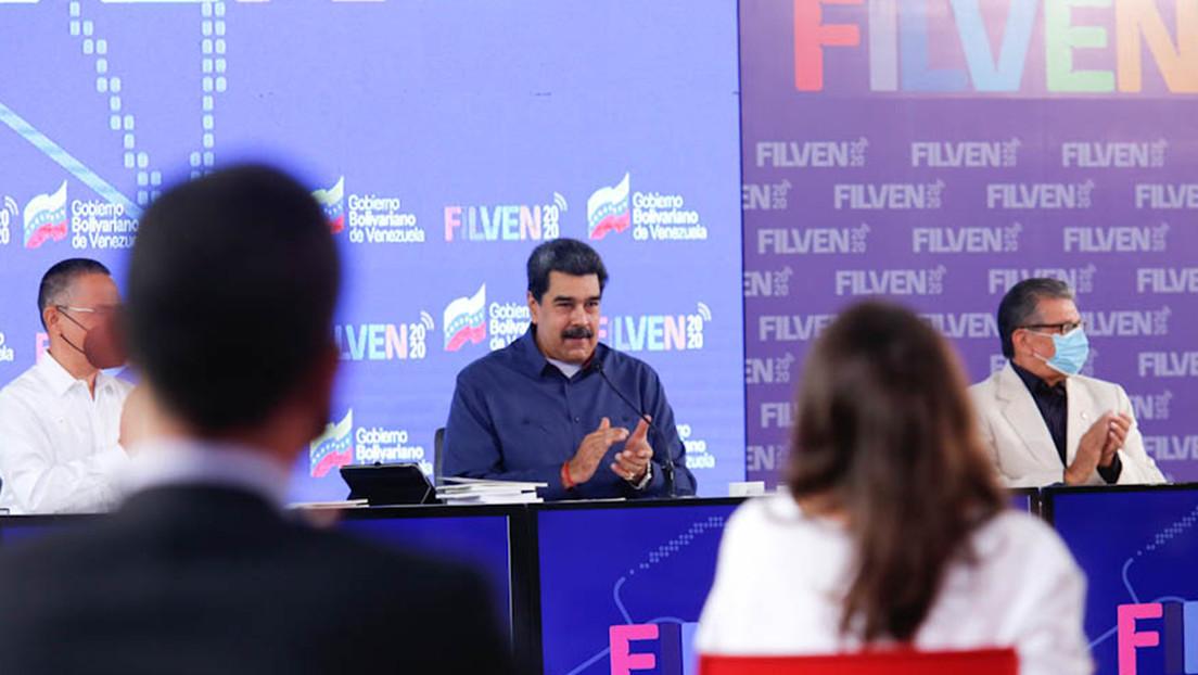 """""""Leer desbloquea"""": Maduro inaugura la Feria Internacional del Libro de Venezuela en homenaje a México"""