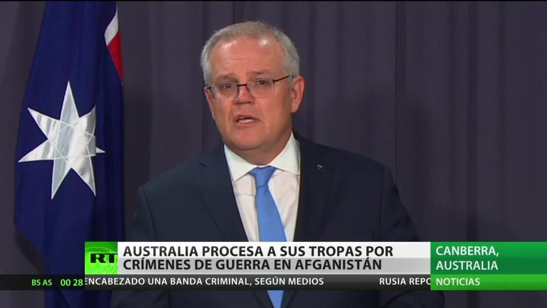 Australia procesa a sus tropas por crímenes de guerra en Afganistán
