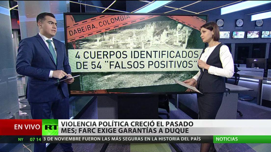 Colombia: El partido FARC exigen garantías a Duque en medio de una creciente violencia política