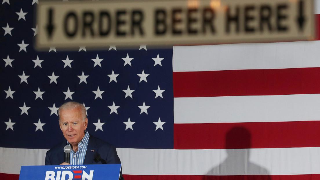 """""""Inofensiva y no demasiado amarga"""": Un bar de EE.UU. lanza la cerveza 'Joe Biden'"""