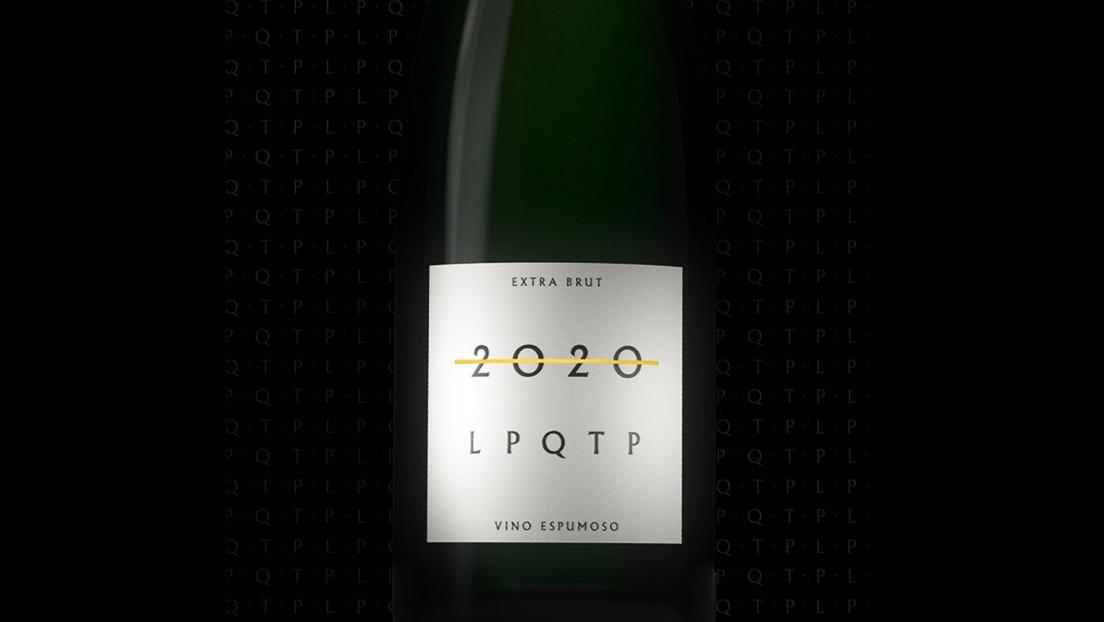 """""""2020 LPQTP"""": presentan en Argentina un nuevo vino para despedir este año especial """"con todas las letras"""""""