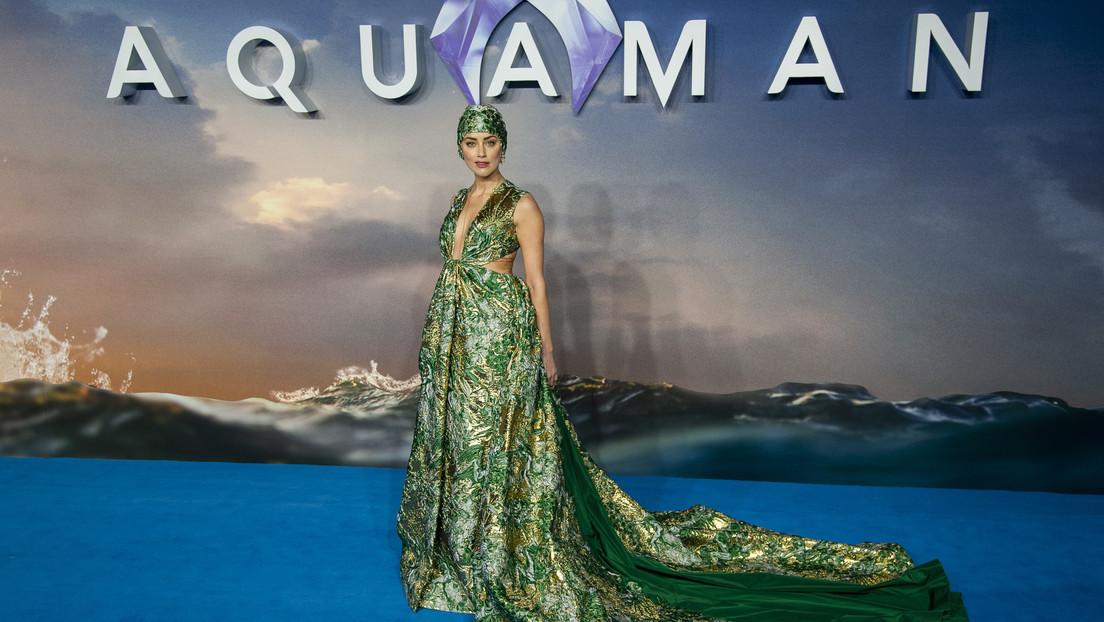 Un millón de firmas exigen despedir a Amber Heard de 'Aquaman 2' y la actriz responde
