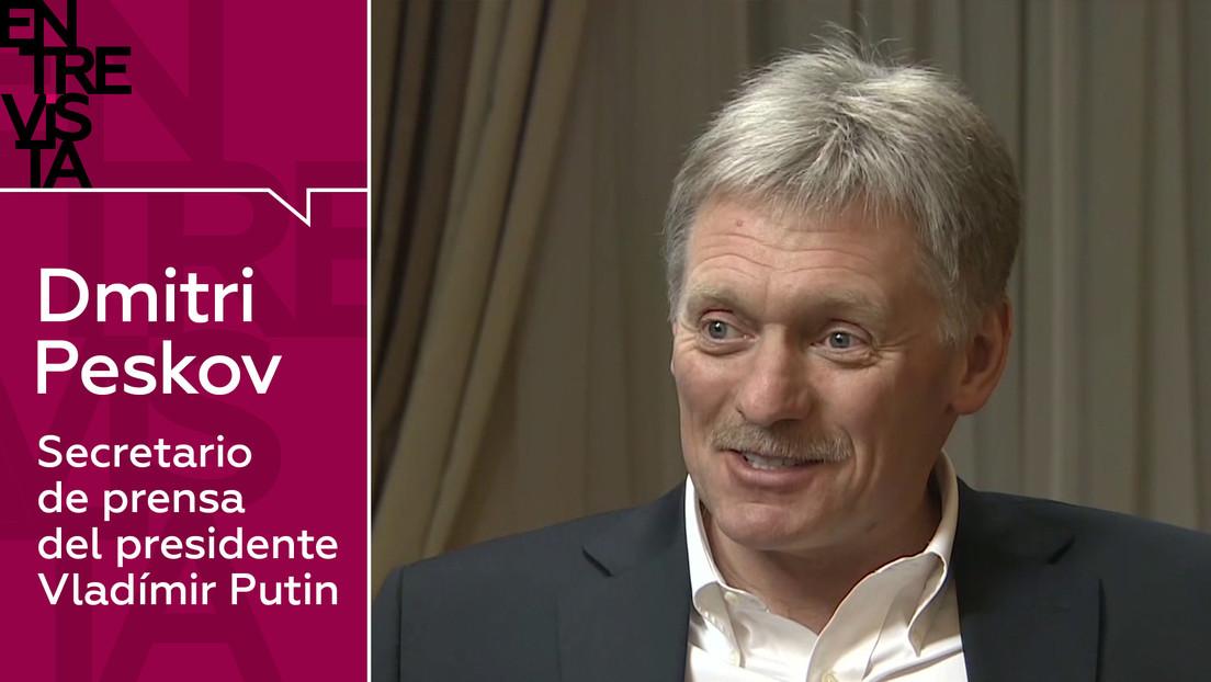 """Peskov a RT: """"Rusia no hará concesiones que rebasen su 'línea roja', y es evidente que se lo puede permitir"""""""