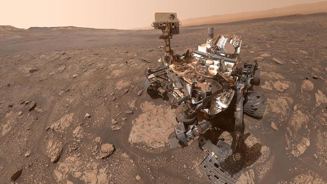 El rover Curiosity de la NASA se toma una selfie en Marte