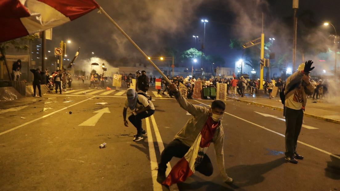 Muere un segundo joven herido de bala durante las protestas en Perú contra Manuel Merino
