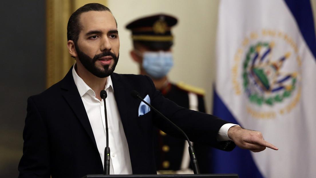 """Bukele: """"El Salvador no reconoce al Gobierno golpista de Merino"""""""
