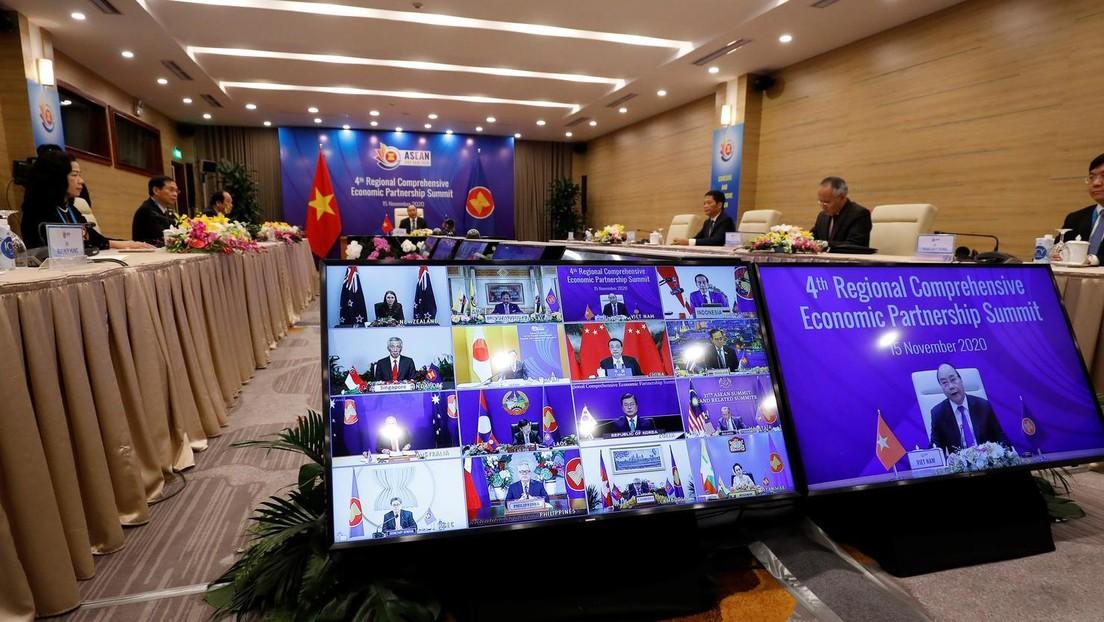 Con China a la cabeza y sin EE.UU.: Nace en Asia el mayor bloque comercial del mundo