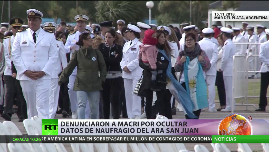 Argentina: Denuncian a Macri por ocultar datos del naufragio del submarino ARA San Juan