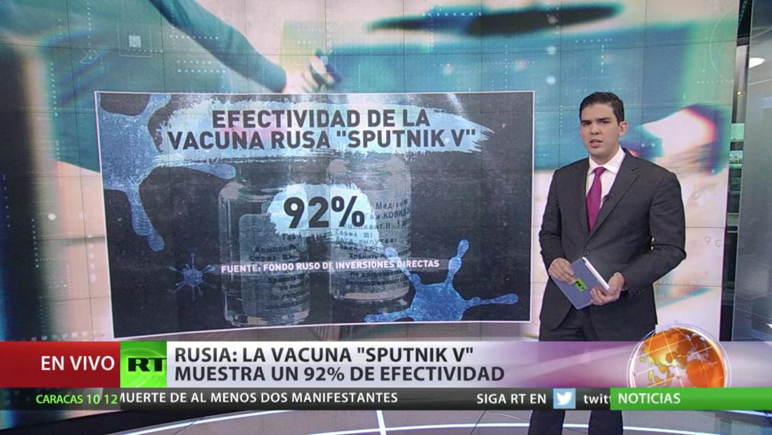 Titulares 'bipolares' de algunos medios sobre la vacuna de Pfizer y Sputnik V politizan la lucha contra la pandemia
