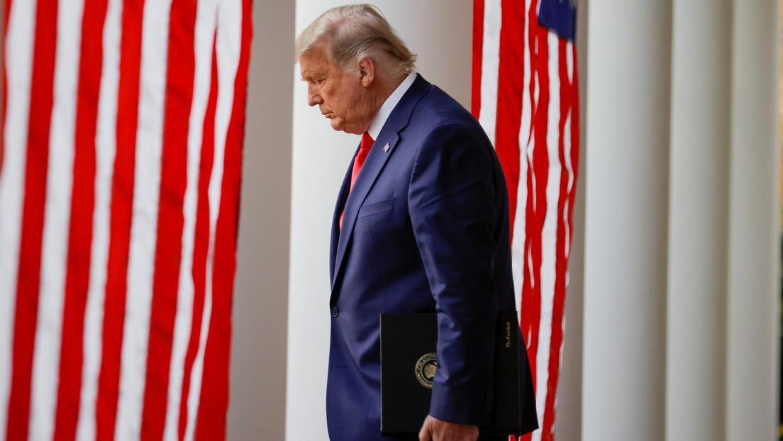 """Trump vuelve a afirmar que """"ganó"""" las elecciones presidenciales en EE.UU."""