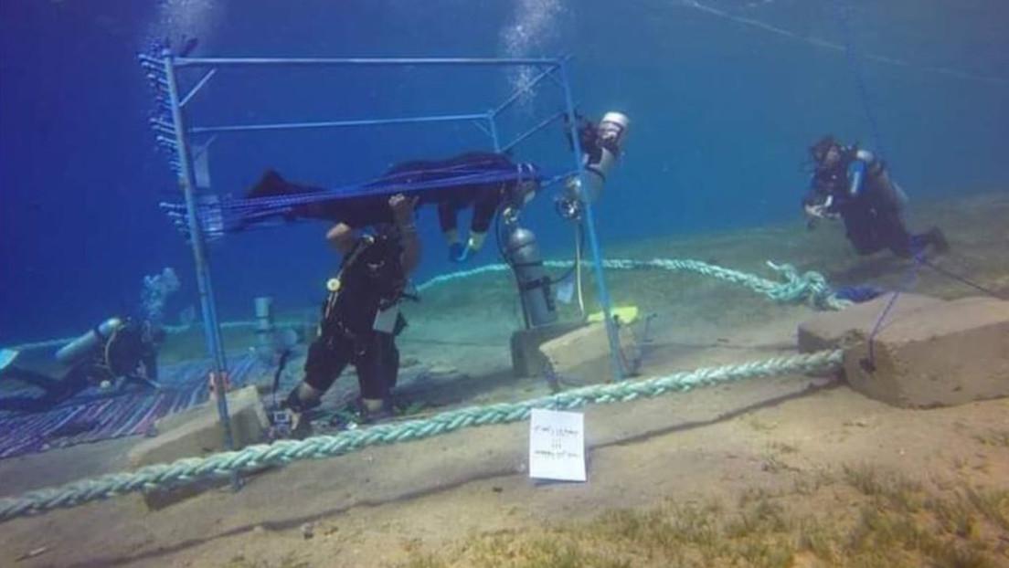 Un buceador bate el récord mundial de inmersión tras pasar más de 145 horas bajo las aguas del mar Rojo